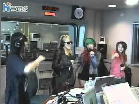 100927 2NE1 - Go Away Live @ Radio Station