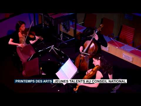 Printemps des Arts: Talented youngsters at the National Council