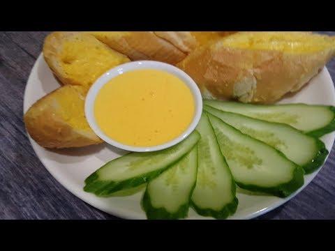 Cách làm sốt trứng (Bơ trứng gà) chấm bánh mì ăn cực đã - Thời lượng: 11 phút.