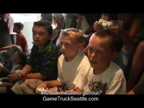 Birthday party ideas: kids, teens — GameTruck Seattle!