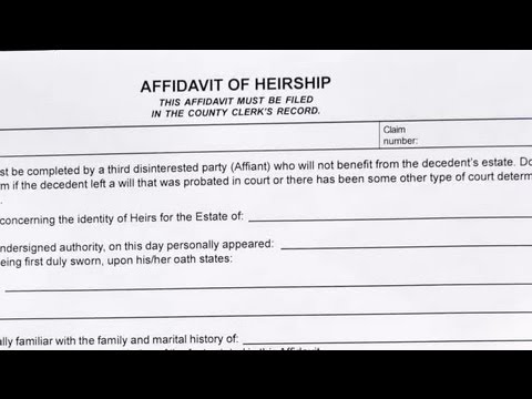 Affidavit Trustee Form Fill Out And Sign Printable PDF