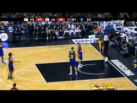 Regal FC Barcelona - Los Angeles Lakers (NBA Europe Live Tour 2010) (7-10-2010)