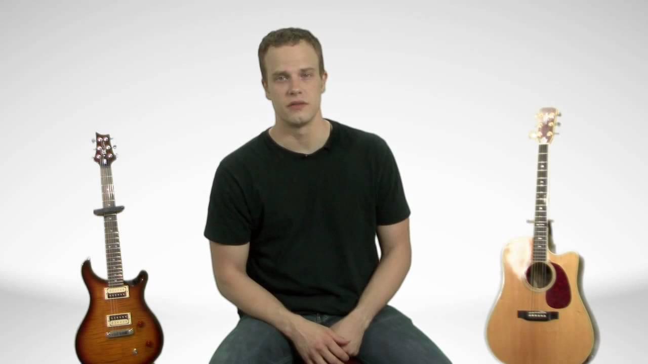 Acoustic Guitar vs. Electric Guitar – Guitar Lesson