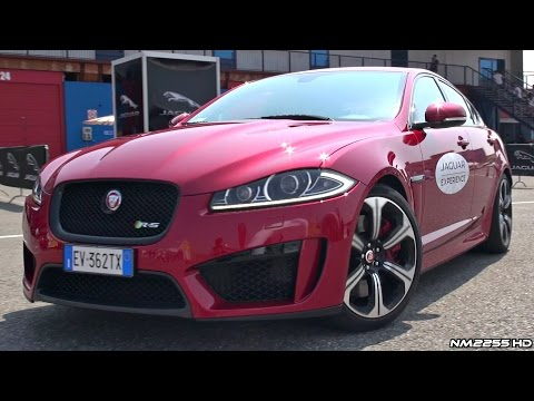 Driving the Jaguar XFR-S 5.0 V8 - Lovely Exhaust Sound