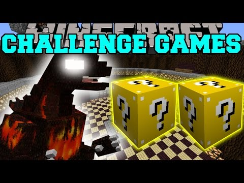 Minecraft: BURNING GODZILLA CHALLENGE GAMES – Lucky Block Mod – Modded Mini-Game