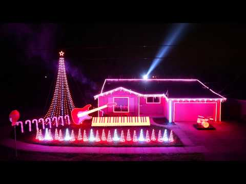Star WarsThemed Christmas Light Show