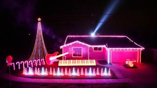 Best of Star Wars Music Christmas Lights Show 2014!