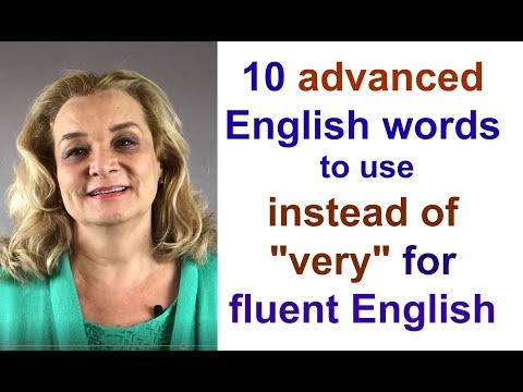 Ten Advanced English Words for More Fluent Speech