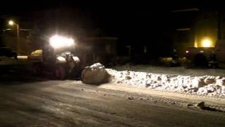 9. Bobcat Toolcat 5600 Plowing