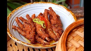 Video Chicken Feet, Dim Sum style - How to Make Authentic Restaurant-style Chicken Feet (紫金凤爪) MP3, 3GP, MP4, WEBM, AVI, FLV Maret 2019