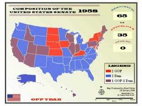 Composition of the United States Senate 1914-2004