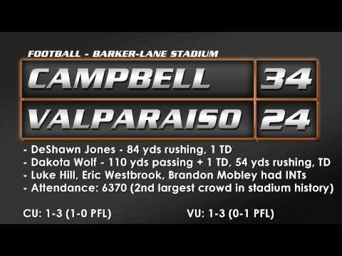Football vs. Valparaiso - 9/27/14