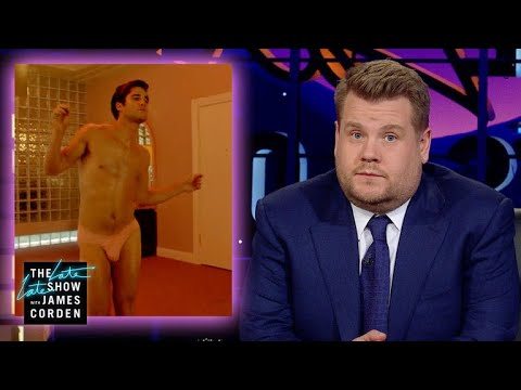 James Corden Proves He S Obsessed With The Assassination Of Gianni Versace With This American