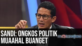 Video Sandi Sandiaga Uno: Ongkos Politik Muaahal Buanget (Part 4) | Mata Najwa MP3, 3GP, MP4, WEBM, AVI, FLV April 2019