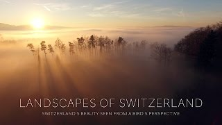 Switzerland's beauty seen from a bird's perspective... Some of these scenes were already shown in my previous videos.