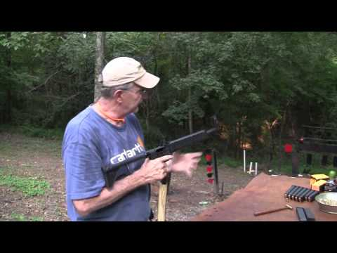 2000 - Shooting and showing the interesting little pistol-caliber carbine.