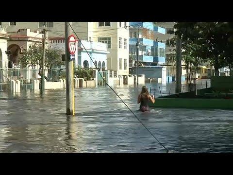 Kuba: Überschwemmung in Havanna
