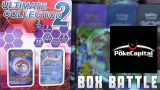 Pokémon Cards - Ultimate Collection 2 Box Opening Battle vs ThePokeCapital! by The Pokémon Evolutionaries