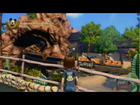 disneyland adventures - Visit http://www.InsideTheMagic.net for a review of Kinect Disneyland Adventures. And check out our other videos for more gameplay and virtual exploration of...