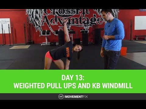 CrossFit Shoulder Mobility and Pull Ups