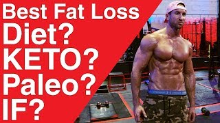 What is The Best Diet For Fat Loss and Getting Rid of Stubborn Belly Fat? Here is my fat loss diet break-down of Keto Diet, Intermittent Fasting, Low Carb, Paleo Diet, IIFYM, and Even Vegan! What Is The BEST diet For FAT LOSS?  Keto Diet, Intermittent Fasting, Low Carb? (DIET BREAKDOWN For Losing Belly Fat!)https://youtu.be/z5zBFGPpTsk★ALPHA LION SUPPLEMENTS + PRODUCTS:★ Master Shredder 24 Hour Fat Loss + Aesthetics Builder -http://www.AlphaLion.Com/Master-Shredder★ Science Of Abs 8 Week Program (Get Epic Six Pack Sculpting + Fat Loss Results Using the Pre Fatigue Phenomenon that Pro Athletes and Ripped Movie Stars Use)★ http://www.AlphaLion.Com/Science-Of-AbsIn this video I wanted to give you a breakdown of the Keto Diet for fat loss and what my thoughts are on it. I know its been a hotly debated topic between Kinobody and Brandon Carter Recently and to be honest both diets have pros and cons.If I had to choose the best diet for fat loss I wouldn't choose either. I would choose what I call the CRAVE DIET as you can eat the foods you crave, replenish Muscle Glycogen, maximize protein synthesis, and still be in a fat burning state for 16 hours per day while eating the foods you CRAVE!Low Carb Diet, Paleo Diet, If If Fits Your Macros all have advantages - but the CRAVE diet is something that I think will help you burn body fat and especially stubborn belly fat while boosting your metabolism and allowing you to psychologically eat the foods you enjoy the MOST!What Is The BEST diet For FAT LOSS?  Keto Diet Pros + Cons! (Best Diet To Burn Belly Fat REVEALED!)https://youtu.be/z5zBFGPpTskDIET                      MECHANISM                                 RESULTKETO         Extremely Low Carb, High Fat,         Burns fat in Deficit                   Moderate Protein. Enter Ketosis!                                                        CON'S - Power Output Decreases (athletes)- Workout intensity suffers- Slower Muscle Gains (glycogen + protein synthesis relationship)- Insul