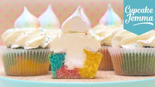 How to Make the Cutest Unicorn Cupcakes | Cupcake Jemma by Cupcake Jemma