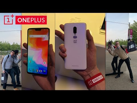 ON SE REND AU ONEPLUS6 LAUNCH EVENT !
