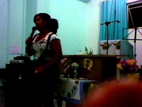 missionária Patricia Ferraz em Salto