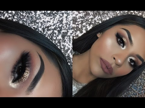 New Years Glam Makeup Tutorial | Sarahy Delarosa