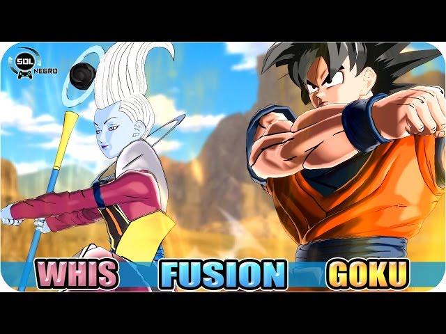 Goku-and-whis-fusion-vs