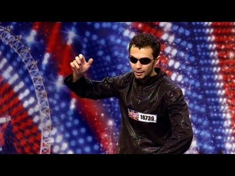 got - Britain's Got Talent: 28-year-old dancer Razy, originally from Romania, is trying out for Britain's Got Talent with quite a unique act, taking queues from th...