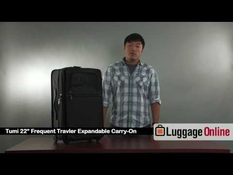 TUMI 22″ Frequent Business Traveler Carry On Review – Luggage Online