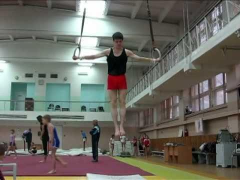 Тренировка по спортивной гимнастике в \Юности\.мр4 - DomaVideo.Ru