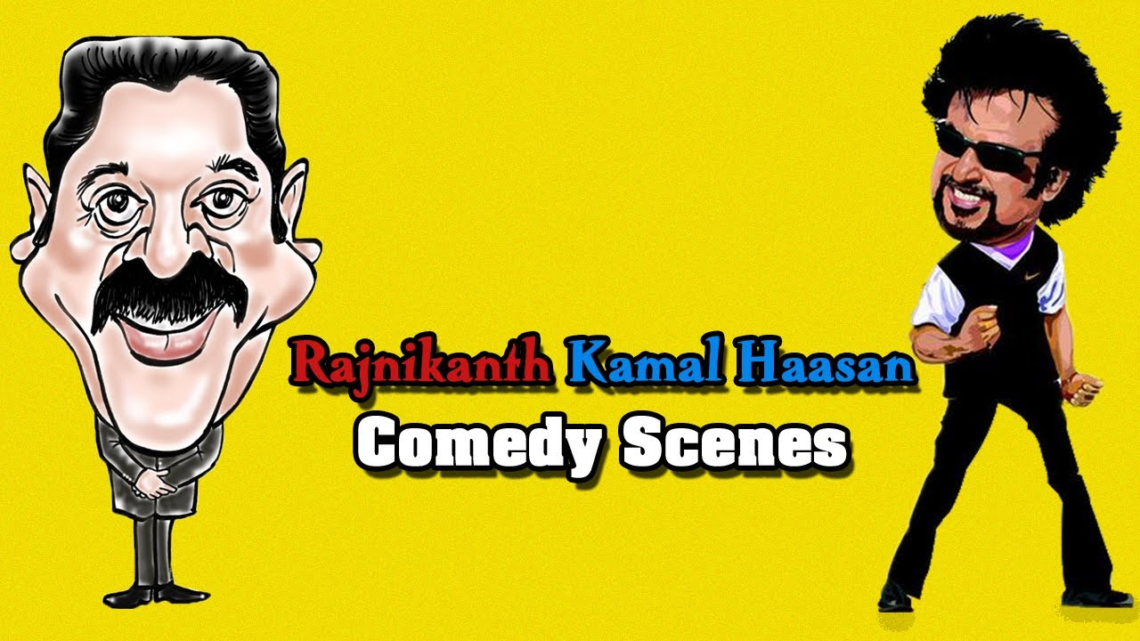 Kamal Haasan & Rajnikanth Comedy – 31 – Tamil Movie Superhit Comedy Scenes