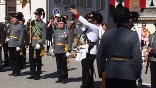 Protect club show / AlberschwendeGemeinde / Austriaعرض نادي الحماية في مدينة دورينبرن النمساSchützen Verein  Österreich