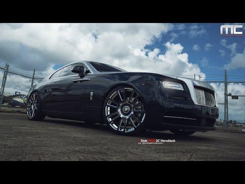 MC Customs | Rolls-Royce Wraith · Vellano Wheels