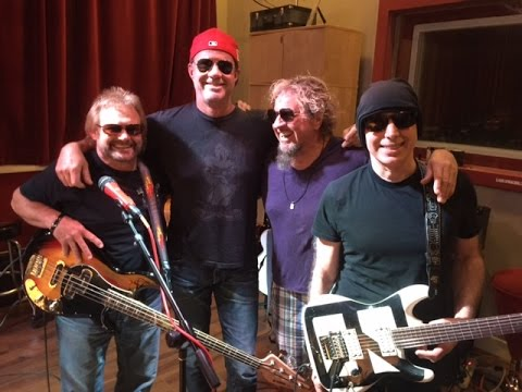 Chickenfoot Rehearsal