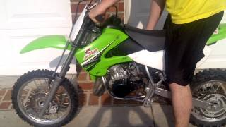 8. 2009 Kawasaki kx65 FOR SALE!!!!!!!!