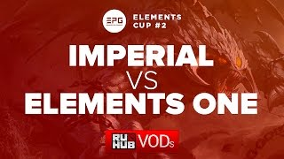 Elements One vs Imperial, game 1
