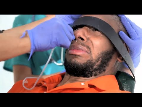 Def - Yasiin Bey (aka Mos Def) force fed under standard Guantánamo Bay procedure Subscribe to the Guardian HERE: http://bitly.com/UvkFpD As Ramadan begins, more th...