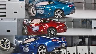 Video Crash Tests 2016 American Muscle Car - Mustang, Camaro & Challenger MP3, 3GP, MP4, WEBM, AVI, FLV Oktober 2018