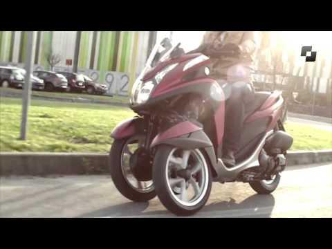 Vídeos de la Yamaha Tricity / ABS de 2014