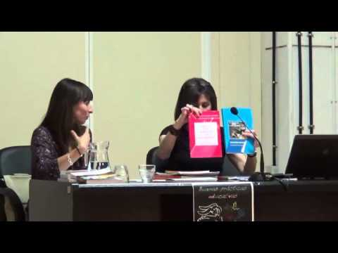 """""""Otras matemáticas existen"""". Liliana Segura y Lucía García."""