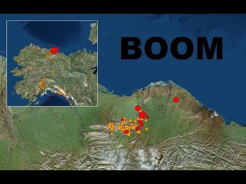 GSM Update 8/13/18 - Strongest Earthquake Ever North Alaska - Flooding Destruction - New Discovery