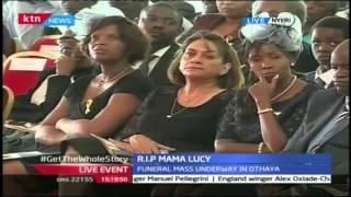 Former Tanzanian President Jakaya Kikwete's Speech At Lucy Kibaki's Funeral Service