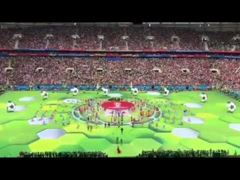 Opening Ceremony Of The FIFA World Cup 2018 Ft ROBBIE WILLIAMS