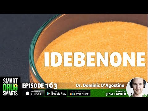 Episode 163 - Idebenone, CoQ10 and Dr. Dominic D'Agostino