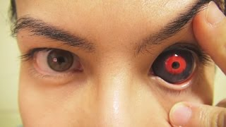 Video How to: Insert And Remove Tokyo Ghoul Sclera Contact Lenses (Fxeyes) MP3, 3GP, MP4, WEBM, AVI, FLV Juni 2018