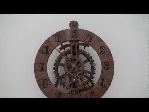 Brian Law - Brian Law's. clock no 11. Built by Erniewood Made out of Australian Blackwood timber .