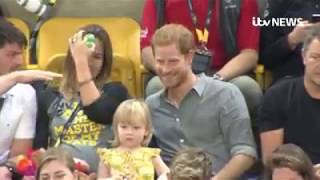 Video Toddler Steals Prince Harry's Popcorn | Isle of Wight Radio MP3, 3GP, MP4, WEBM, AVI, FLV Oktober 2017